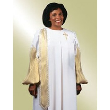 Ladies Lame Evangelist Robe