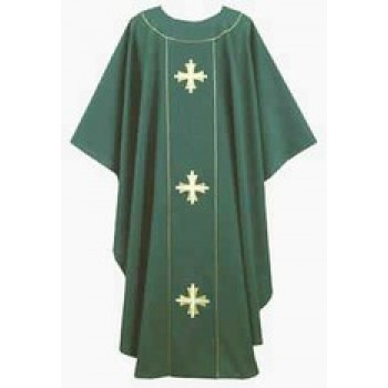 Hunter Thomas Cross Chasuble with Cross Applique on Back Yoke