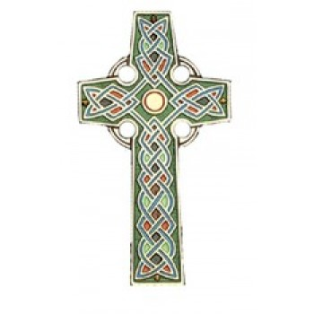 Colored Celtic Cross