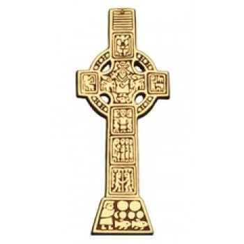 Celtic Wall Cross - 8½""