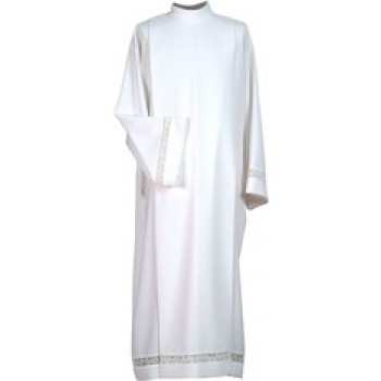 Priests Alb with Lace Insert