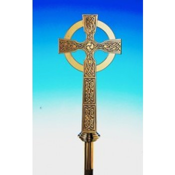 Celtic Processional Cross By Hayes and Finch