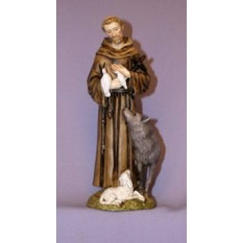 "Francis with Animals 6"" Statue"
