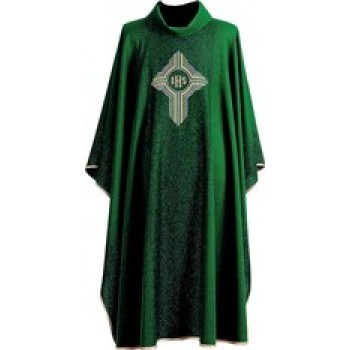 IHS in Cross Chasuble by Hayes and Finch
