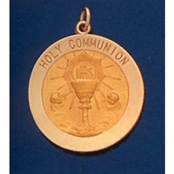 First Communion 14K Gold Medal