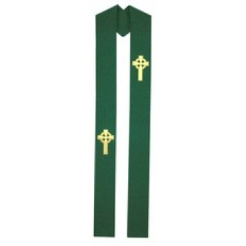 Hunter Celtic Cross Stole