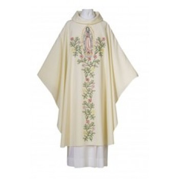 Chasuble with Our Lady of Guadalupe