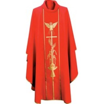 Pentecost Chasuble with Holy Spirit