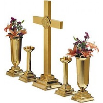 "36"" Altar Set with Three Step Pedestal"