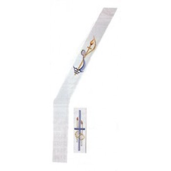 Reversible Baptismal and Wedding Deacon Stole