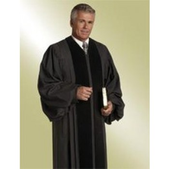 Black Wesley Robe