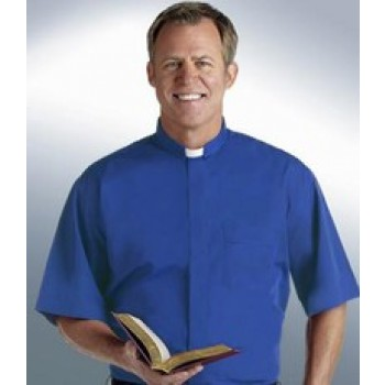 ChurchWear Short Sleeve Tab Collar