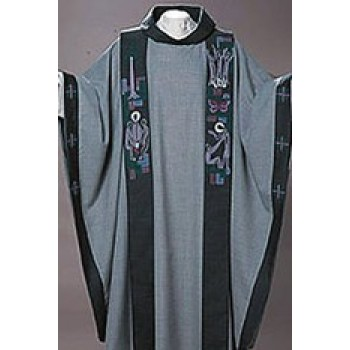 Rise-Up Chasuble and Overlay Stole Set