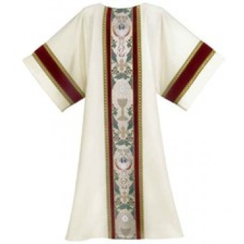Tapestry of Life with Velvet and Galloon Trim Dalmatic