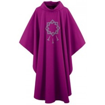 Purple Crown of Thorns Easter Chasuble