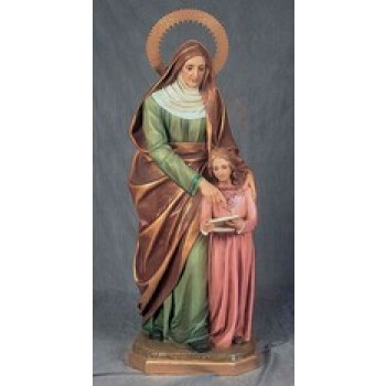 Ann with Blessed Mother
