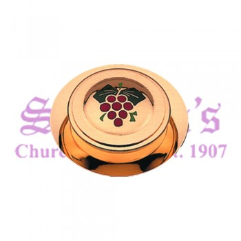 """Grapes"" Motif Communion Pyx"