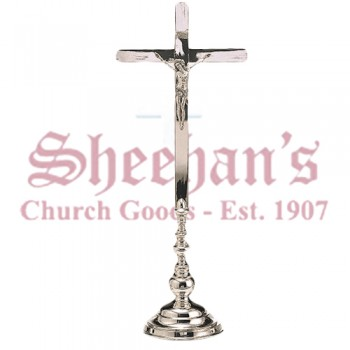 Brass or Silver Plated Brass Altar Crosses