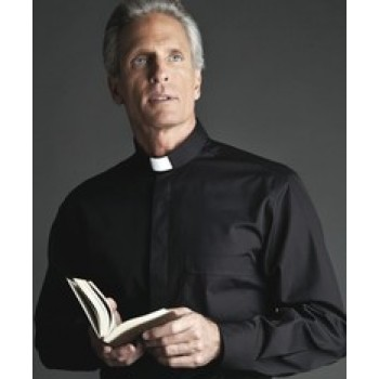 WEAR THE SHIRT THAT'S CARRIED IN THE VATICAN GIFTSTORE - Short Sleeve Clergy Shirt by Desta