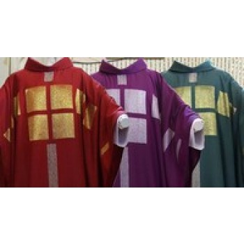 Crescendo Chasuble Handwoven by Stadelmaier