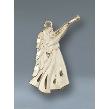 Angel Figure 14KT Gold Pendant