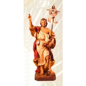 John the Baptist Wood Carve Statue