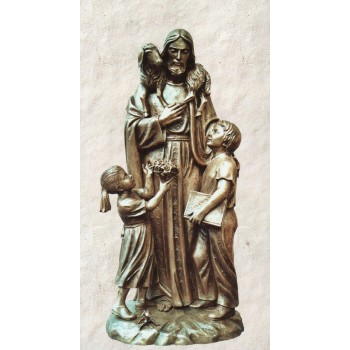 Good Shepherd with Children 6' Statue