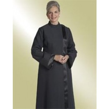 Ladies Black Clergy Alb
