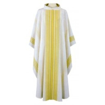 Chasuble with Woven Design