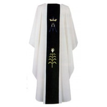 Chasuble with Marian Design