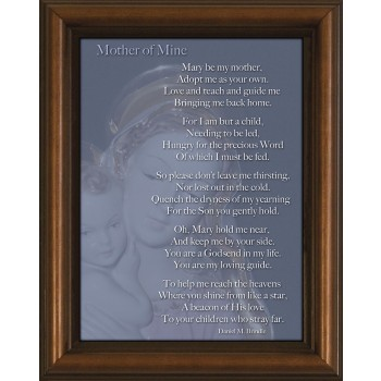 Mother of Mine Poem Framed