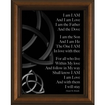 I Am Poem Framed