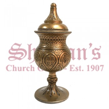 Gold Plated Brass Liner Holy Oil Stock
