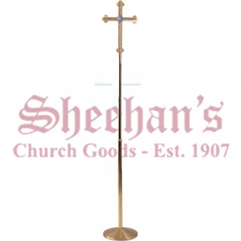 Processional cross with Budded Ends