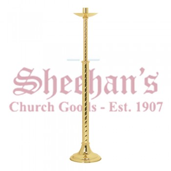 Processional Candleholder with Round Base