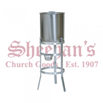 Holy Water Tanks with Aluminum Stands