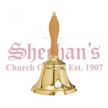 "Large 10"" Hand Bell"