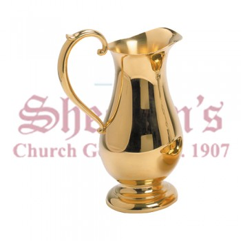 Gold Plated Ewer