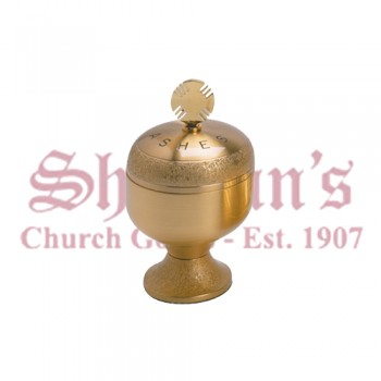Satin Gold Plated Ash Holder
