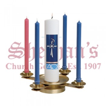 Brass Advent Wreath