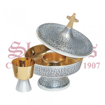 Gold Plated and Oxidized Silver Intinction Set