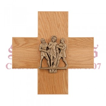 Stations of the Cross in Cast Bronze