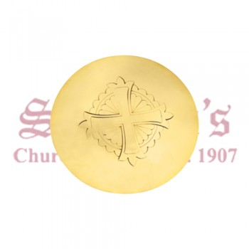 Scale Paten with Engraved Cross Design