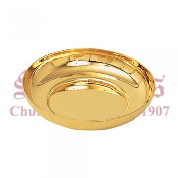 Gold Plated Bowl Paten
