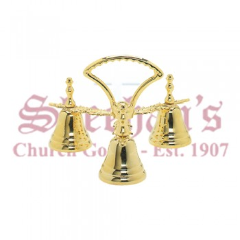 Altar Bells in Gold Plated Finish