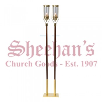 Swinging Processional or Pew End Torch