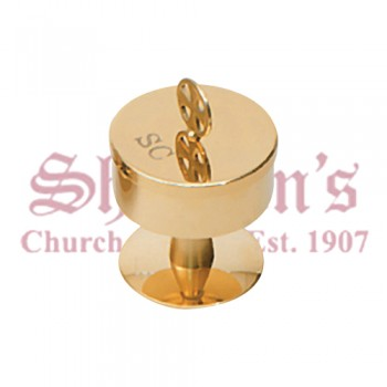 Gold Plated Bishop Oil Stock