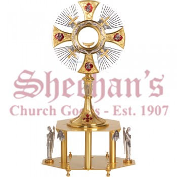 Gold and Silver Plated Monstrance