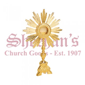 Gold Plated Monstrance with All Purpose Luna