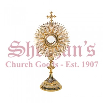 Monstrance with Filigree Design